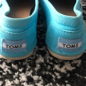 Toms Shoes - Bright Blue Toms